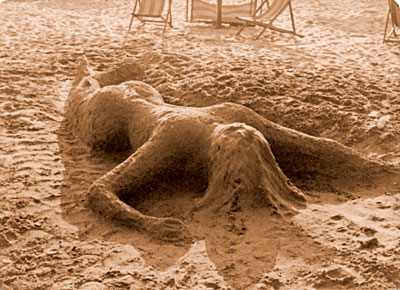 Mermaid Raped by the Beach Public, 1976